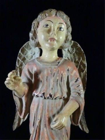 ANGEL SCULPTURE, LOOKING HEAVENWARD, COMPOSITION, - 2