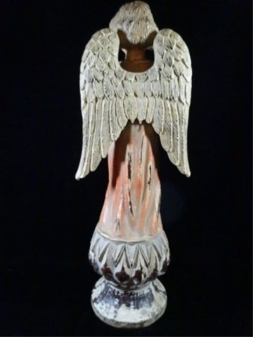 ANGEL SCULPTURE, LOOKING HEAVENWARD, COMPOSITION, - 5
