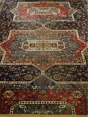 LARGE PERSIAN STYLE WOOL RUG, VERY GOOD CONDITION,