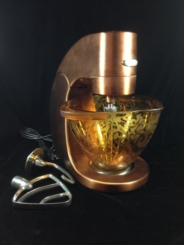 JENN-AIR ATTREZZI STAND MIXER, COPPER FINISH, MODEL