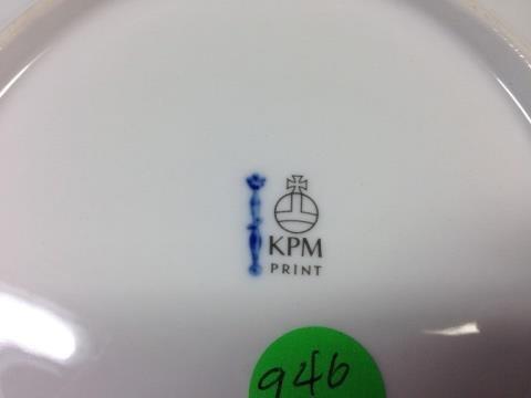 KPM PRINT PORCELAIN PLATE, BERLIN, DAS BRANDENBURGER - 5