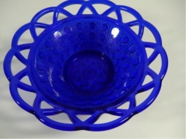 9 PC BLUE DEPRESSION GLASS, INCLUDES 5 TUMBLERS - 10