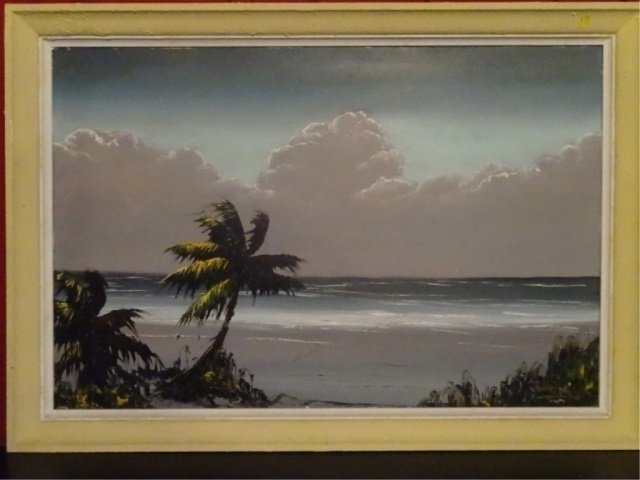JAMES GIBSON HIGHWAYMEN PAINTING, OIL ON BOARD, - 2