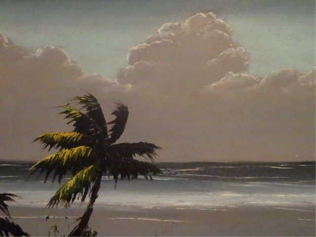 JAMES GIBSON HIGHWAYMEN PAINTING, OIL ON BOARD, - 4