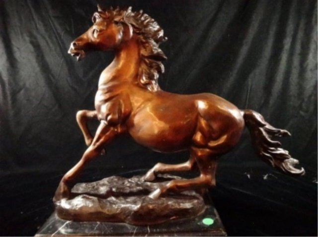 BRONZE HORSE SCULPTURE, JAY WILLIAMS LIMITED EDITION - 4