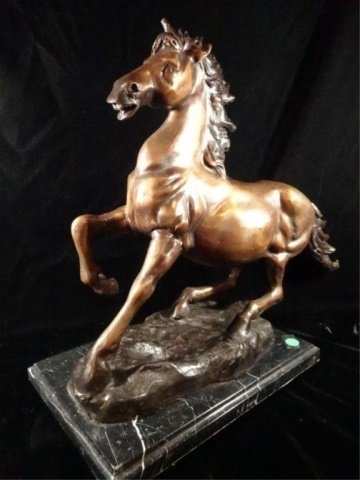 BRONZE HORSE SCULPTURE, JAY WILLIAMS LIMITED EDITION - 5