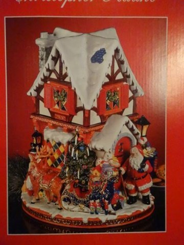LARGE CHRISTOPHER RADKO CHRISTMAS COOKIE JAR, PAINTED - 10