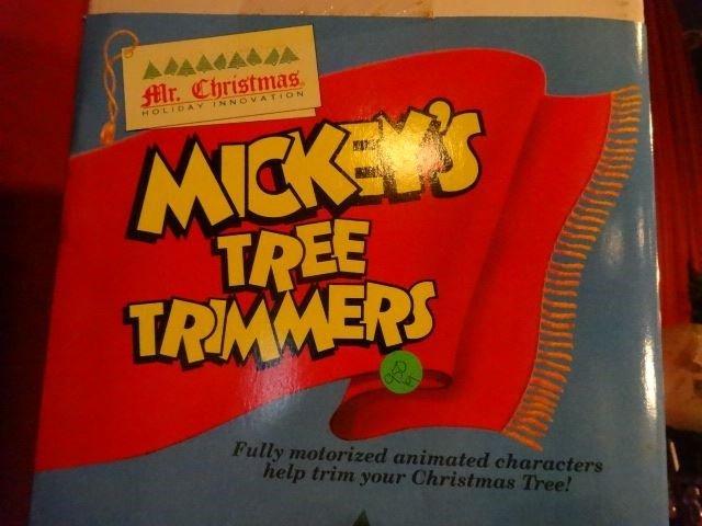 LARGE ANIMATED CHRISTMAS MICKEY MOUSE, WALT DISNEY - 3