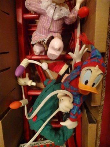 LARGE ANIMATED CHRISTMAS MICKEY MOUSE, WALT DISNEY - 6