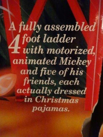 LARGE ANIMATED CHRISTMAS MICKEY MOUSE, WALT DISNEY - 7