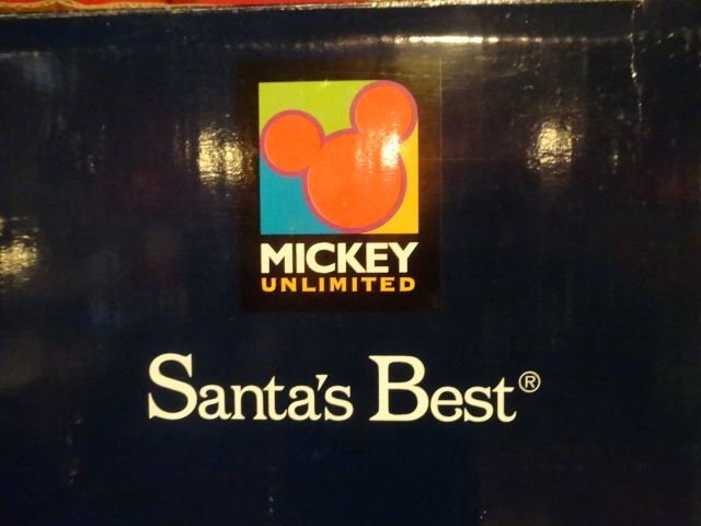 LARGE ANIMATED CHRISTMAS MICKEY MOUSE AND MINNIE MOUSE - 4