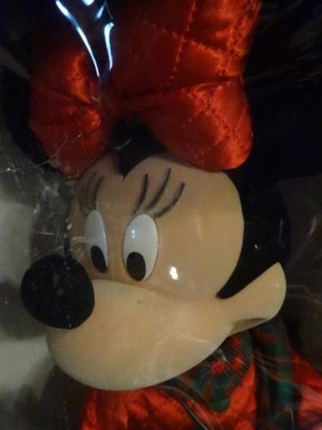 LARGE ANIMATED CHRISTMAS MINNIE MOUSE, WALT DISNEY, IN - 5