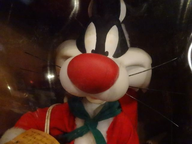 LARGE ANIMATED CHRISTMAS SYLVESTER CAT, LOONEY TUNES, - 3