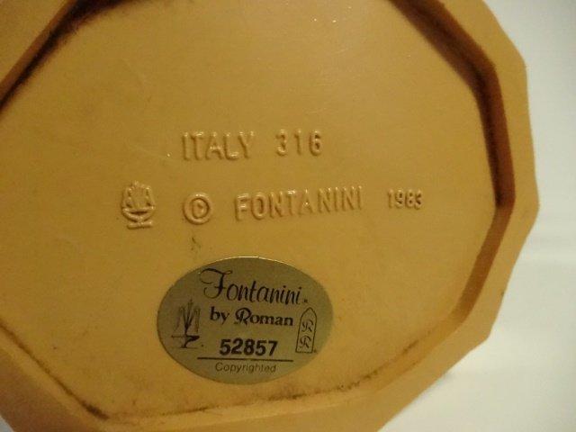 21 PC CHRISTMAS DECOR - ITALIAN NATIVITY FIGURINES, - 10