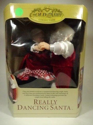 CHRISTMAS ANIMATED MUSICAL REALLY DANCING SANTA, SANTA