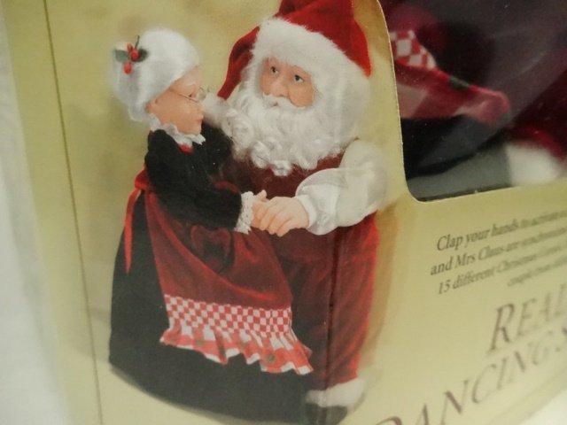 CHRISTMAS ANIMATED MUSICAL REALLY DANCING SANTA, SANTA - 3