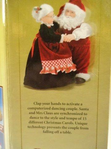 CHRISTMAS ANIMATED MUSICAL REALLY DANCING SANTA, SANTA - 5