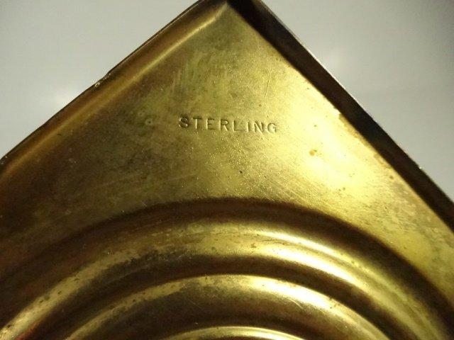 4 STERLING SILVER CANDLESTICKS, CORINTHIAN COLUMN - 6