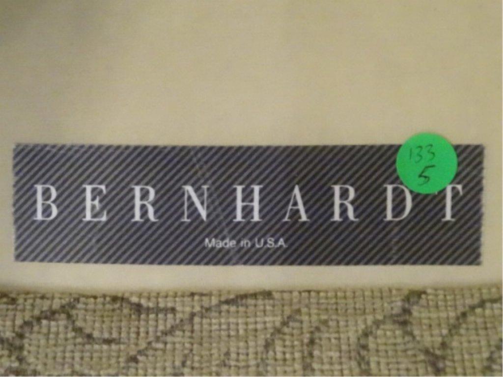 PAIR BERNHARDT SWIVEL ARM CHAIRS, CHAMPAGNE GOLD - 8