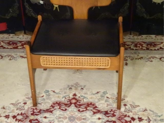 MID CENTURY MODERN VALET CHAIR, 1960'S, WITH TRAY, - 8