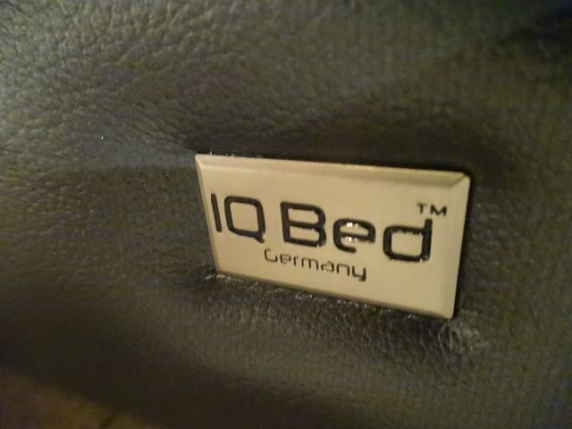LEATHER WRAPPED IQ BED, KING SIZE, MODERN DESIGN, MADE - 5