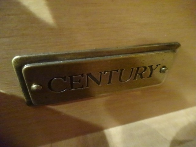 CENTURY FURNITURE CHIPPENDALE CHEST, 4 DRAWERS, GILT - 8