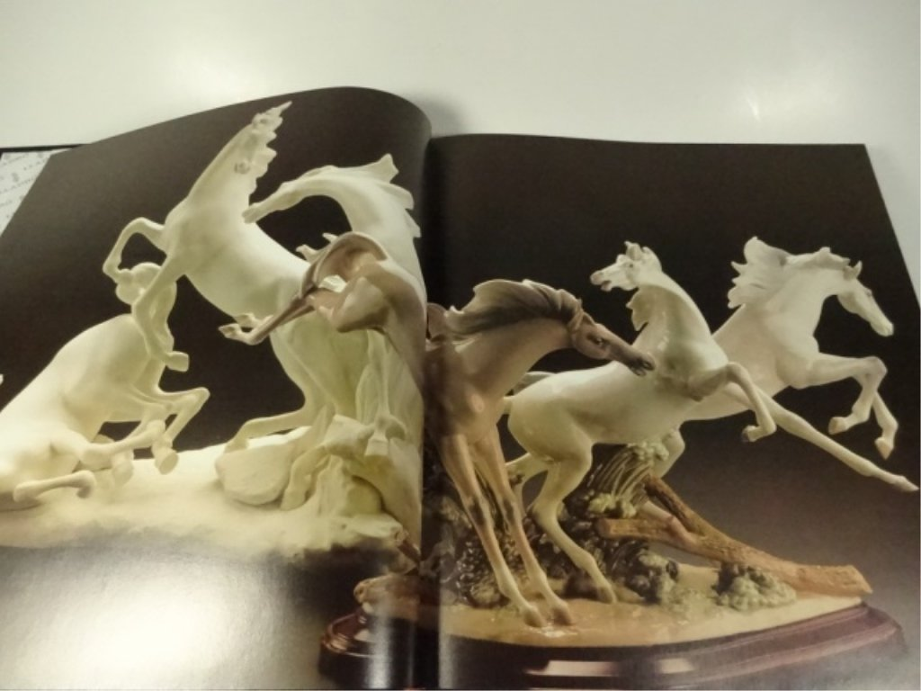 LLADRO, THE MAGIC WORLD OF PORCELAIN BOOK, VERY GOOD - 6