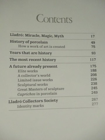 LLADRO, THE MAGIC WORLD OF PORCELAIN BOOK, VERY GOOD - 7