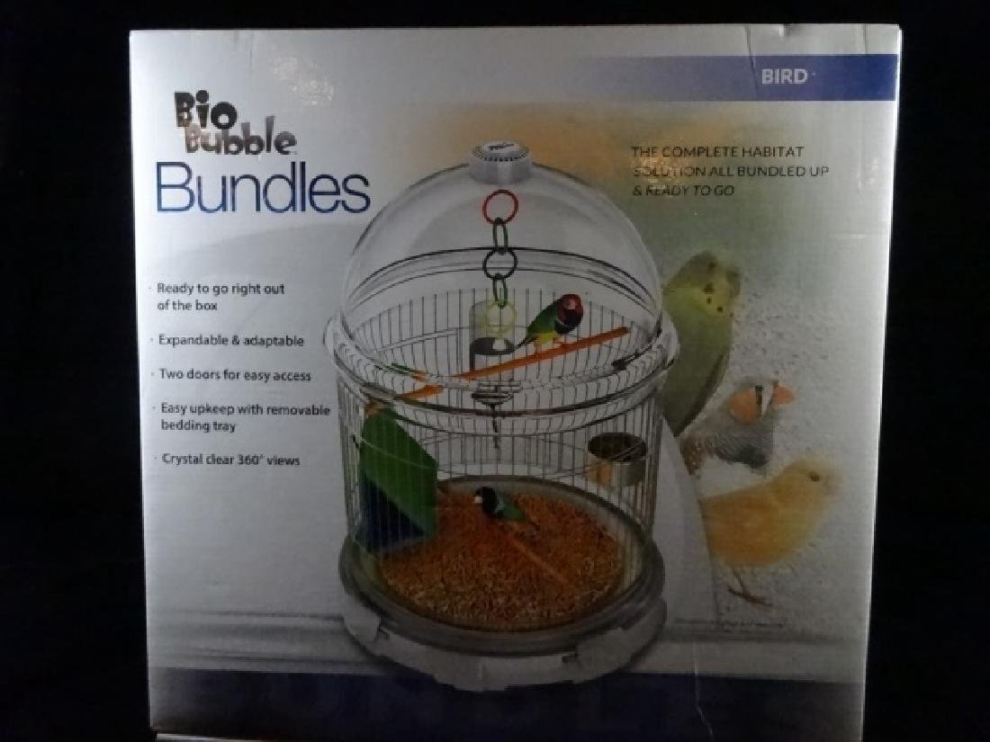 BIOBUBBLES BUNDLES BIRD HABITAT, IN MODERN WHITE,