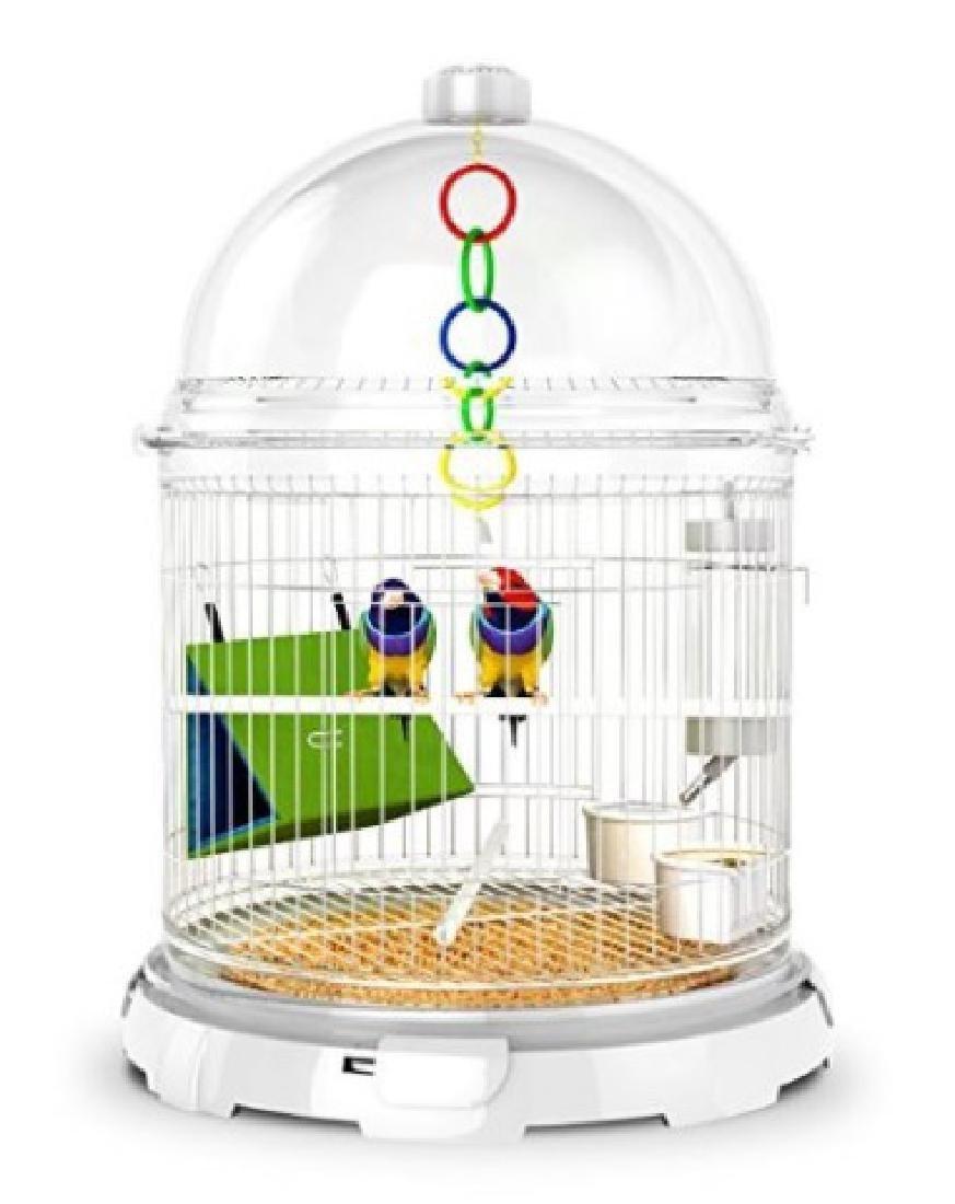 BIOBUBBLES BUNDLES BIRD HABITAT, IN MODERN WHITE, - 3