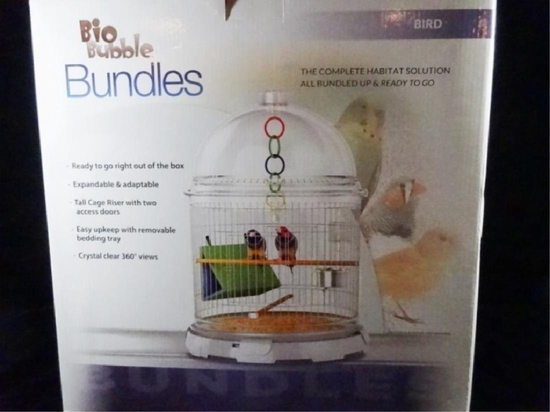 BIOBUBBLES BUNDLES BIRD HABITAT, IN MODERN WHITE, - 4