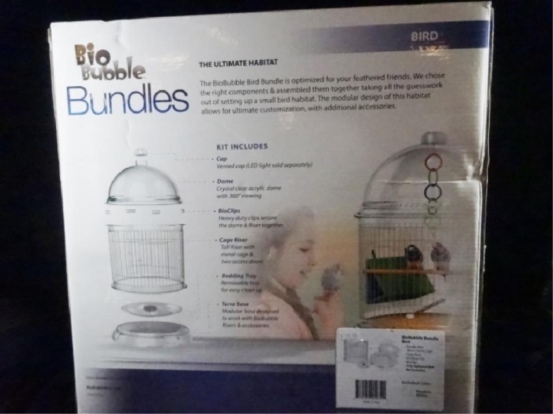 BIOBUBBLES BUNDLES BIRD HABITAT, IN MODERN WHITE, - 5