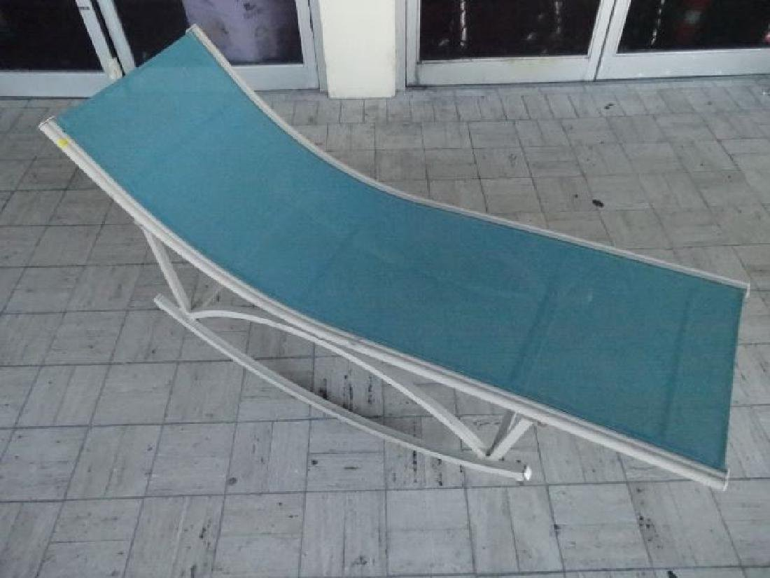MID CENTURY ROCKING PATIO LOUNGE CHAIR, 1950'S/60'S,