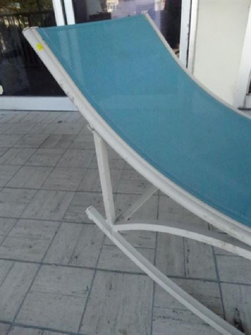 MID CENTURY ROCKING PATIO LOUNGE CHAIR, 1950'S/60'S, - 2