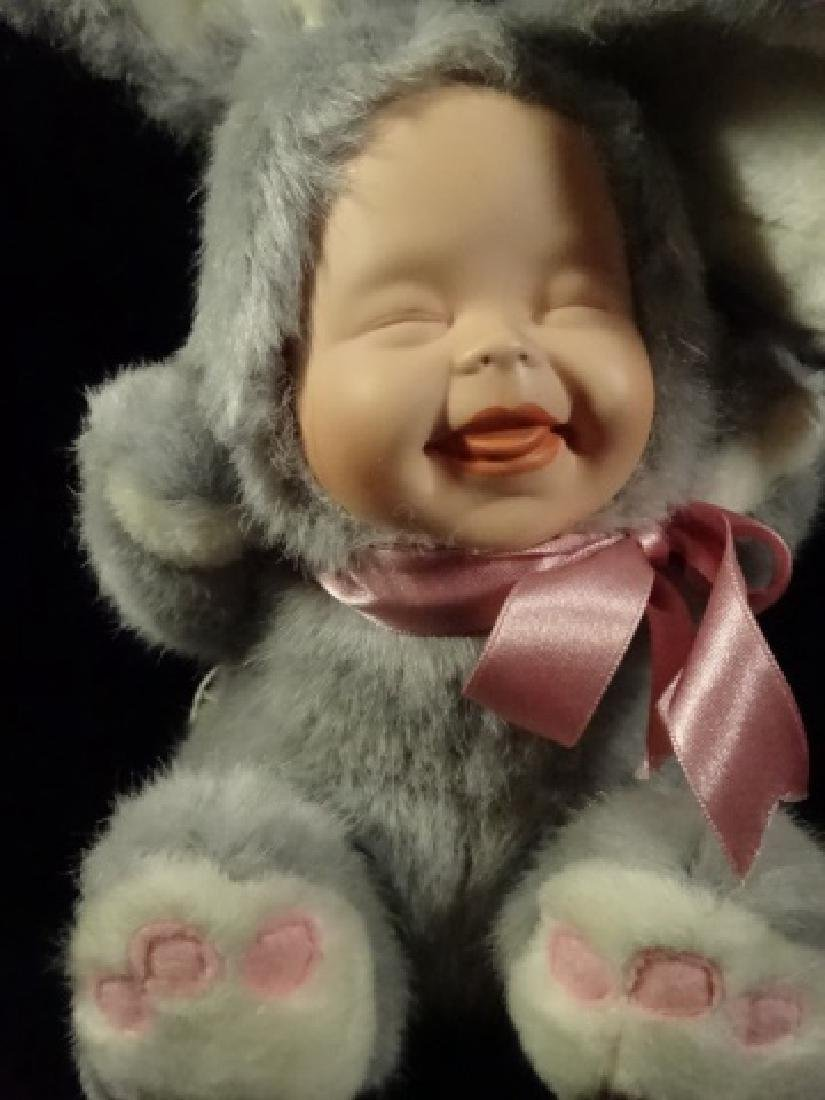 GEPPEDO PORCELAIN DOLL, BAILY BUNNY, WITH BOX, APPROX - 2