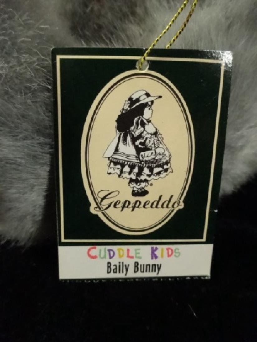 GEPPEDO PORCELAIN DOLL, BAILY BUNNY, WITH BOX, APPROX - 5