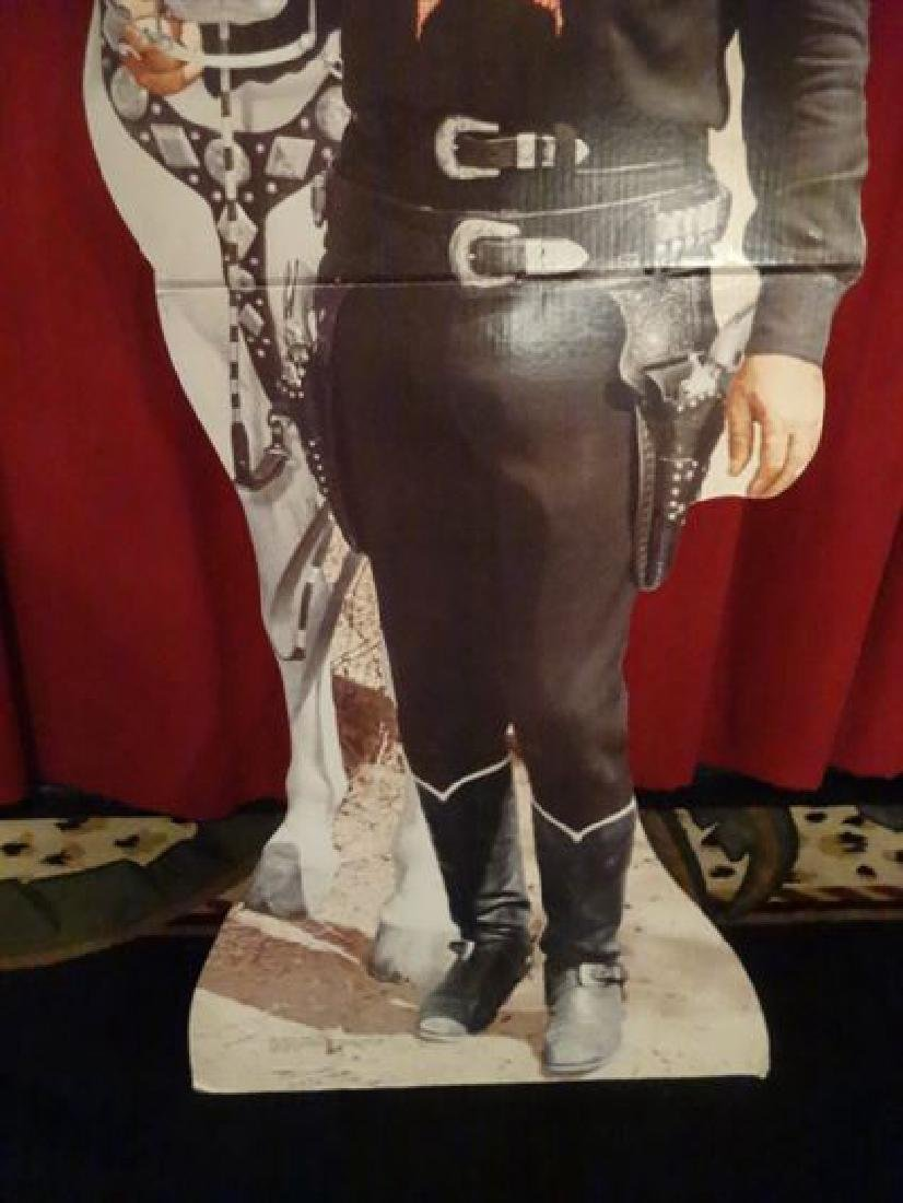LARGE ROY ROGERS CARDBOARD CUTOUT FIGURE, WITH TRIGGER, - 3