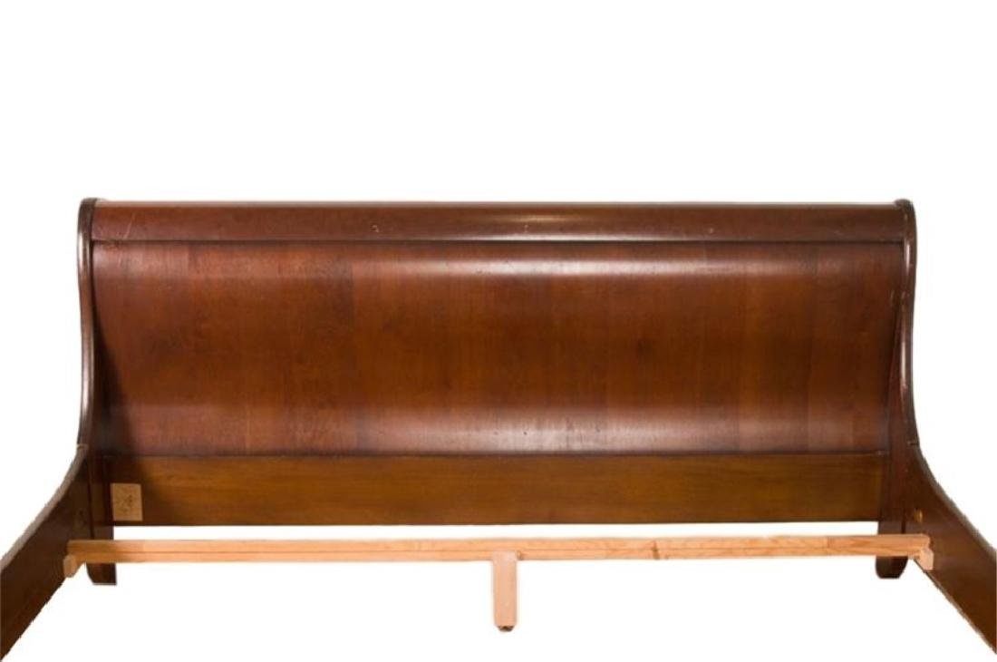 GRANGE FRANCE LOUIS PHILLIPE STYLE KING SLEIGH BED, - 2