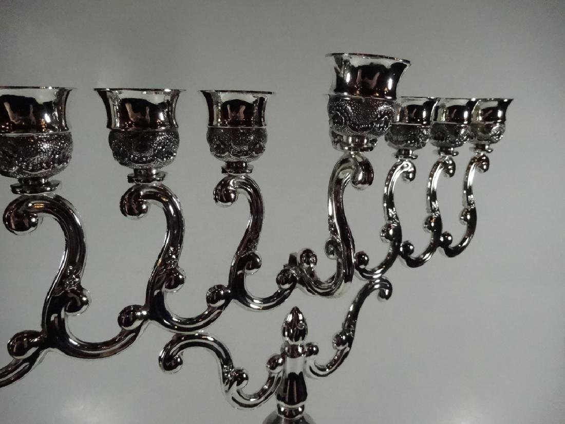 """MENORAH CANDLE HOLDER, APPROX 17.25"""" X 12.5"""" - 2"""