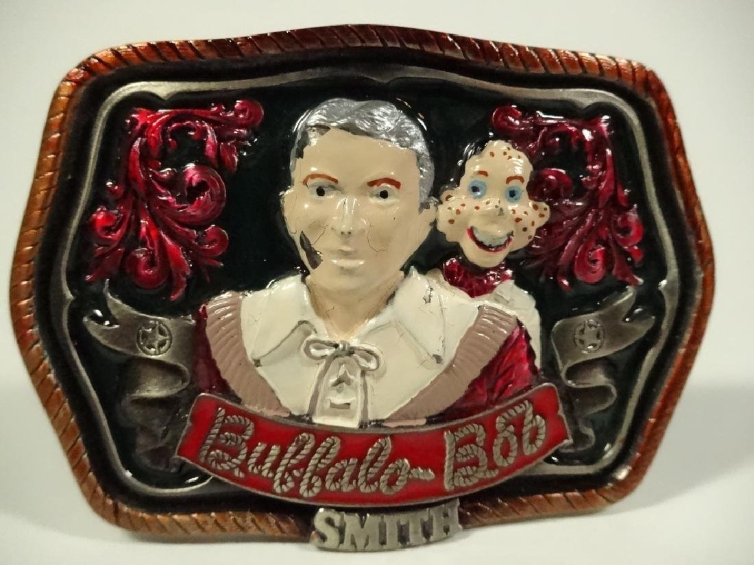 BUFFALO BOB SMITH BELT BUCKLE, LIMITED EDITION #66 OF