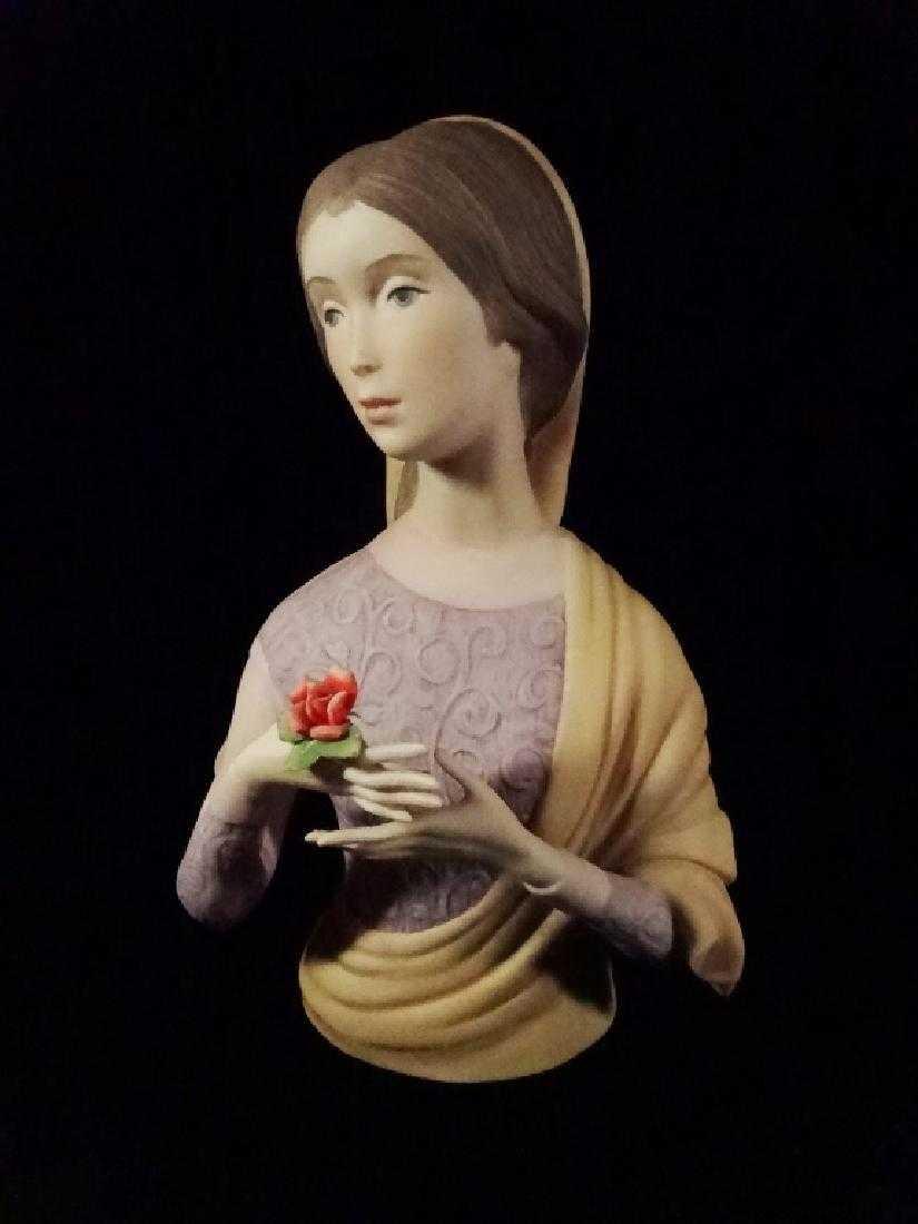Laszlo Ispanky Porcelain Bust Limited Edition Woman