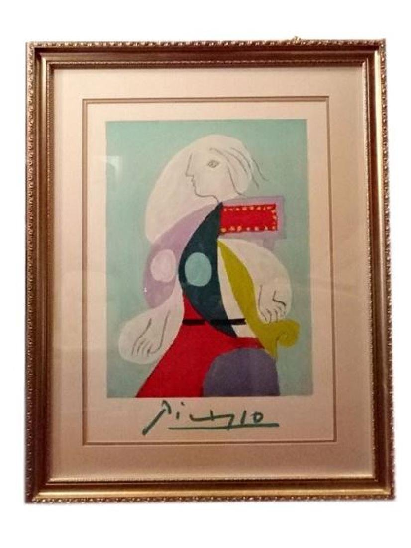 PABLO PICASSO LITHOGRAPH, LIMITED EDITION OF 1000, FROM