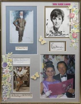 MY FAIR LADY: An unusual selection of signed pieces,
