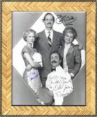 FAWLTY TOWERS: Signed 8 x 10 photograph by the four