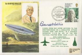 WALLIS BARNES: (1887-1979) English Scientist, inventor