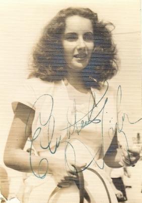 TAYLOR ELIZABETH: (1932-2011) British-born American