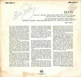 PRESLEY ELVIS: (1935-1977) American Singer & Actor.