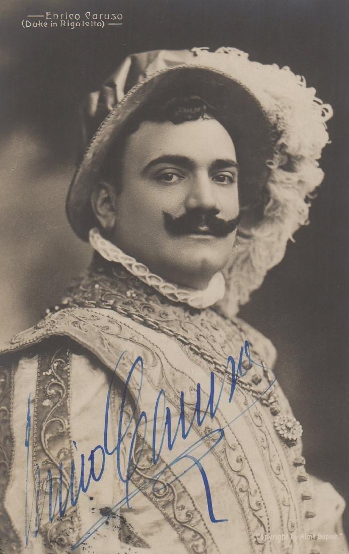 CARUSO ENRICO: (1873-1921) Italian Tenor. Vintage