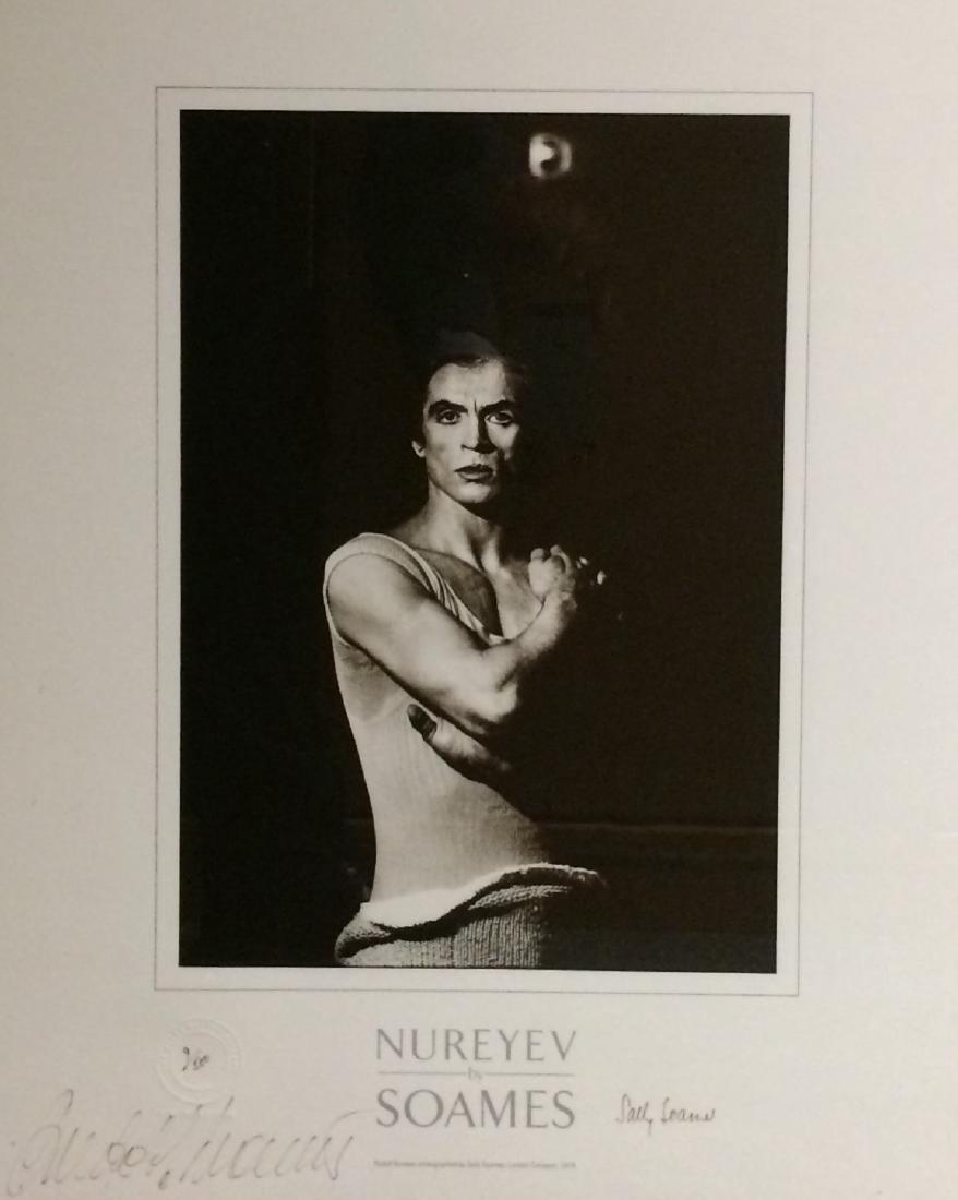 NUREYEV RUDOLF: (1938-1993) Russian Ballet Dancer.