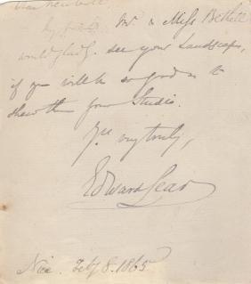 LEAR EDWARD: (1812-1888) English Artist, Illustrator